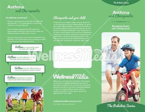 chiropractic brochures template chiropractic asthma brochure