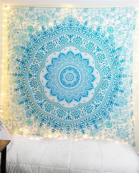 Light Blue Tapestry by 17 Best Ideas About Blue Tapestry On