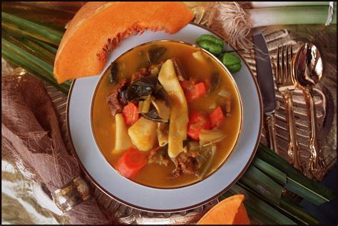 soup restaurant new year takeaway what is the proper way to prepare haitian soup joumou for