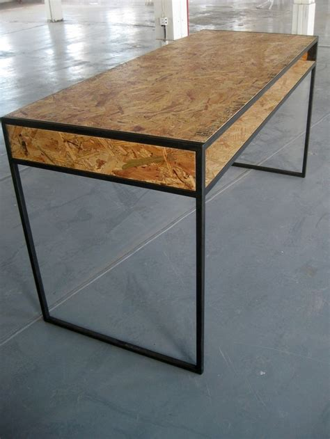 Plywood Office Desk Best 25 Plywood Desk Ideas On Pinterest Yellow Drawers Minimalist Home Office Furniture And