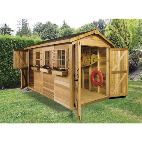 lowes sheds wooden shed at lowes