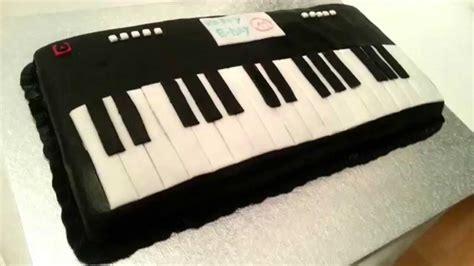keyboard cake tutorial keyboard piano fondant cake youtube