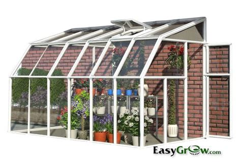 rion lean   sun room  clear wall greenhouse kit