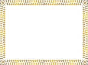 7 free printable blank certificate borders sample of