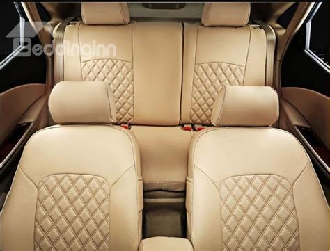 Car Leather Types by Types Soild Leather Material Car Seat Cover