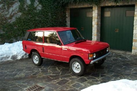 auto 3 porte range rover classic 3 porte benzina veicolo venduto