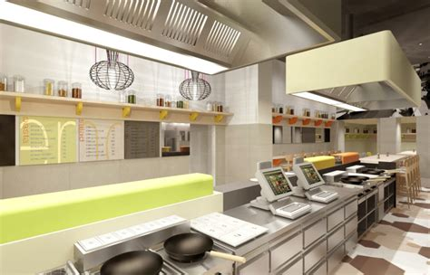 fast food kitchen design medveczky gothard bellozzo fast food chain store interior