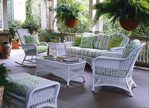 White Resin Wicker Patio Furniture Icamblog White Outdoor Wicker Furniture