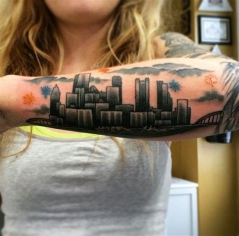 pittsburgh tattoos designs 45 best tattoos images on pittsburgh steelers
