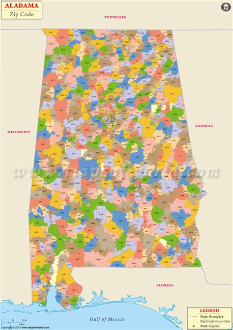 zip code map jefferson county al buy alabama zip code map