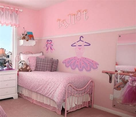 metal bed frame for girly bedroom ideas using soft pink paint color artenzo