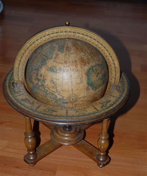 Globe Table L Decorative Vintage Wooden Library Table Top Globe Sold On Ruby