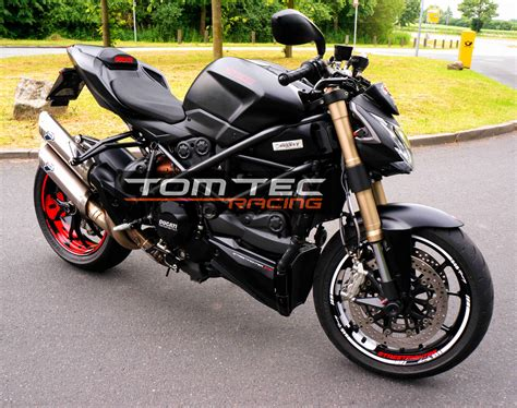 Ducati Performance Felgen Aufkleber by Ducati Streetfighter 848 1098 1198 S Naked Bike Aufkleber