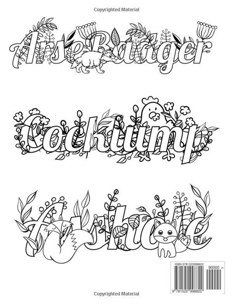 coloring pages swear words swear word printable adult coloring pages sketch coloring page