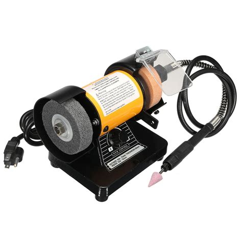 mini bench grinder polisher 110v ac 3 inch mini bench grinder flexible shaft rotary