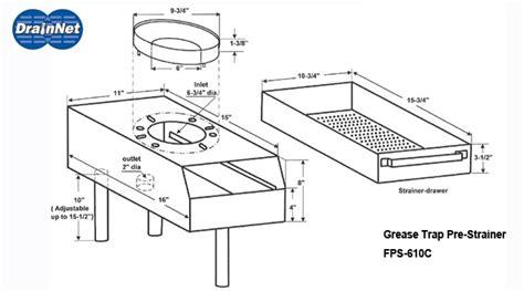 grease trap diagram grease trap installation diagram 28 images 3
