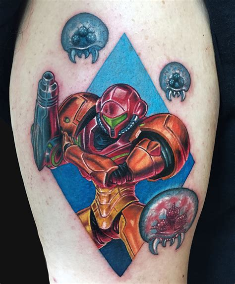 metroid tattoo cool bill cipher on left wrist