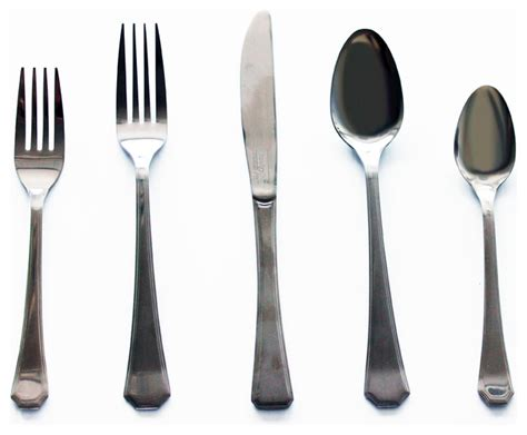 modern flatware sets everyday 20 piece flatware set contemporary flatware