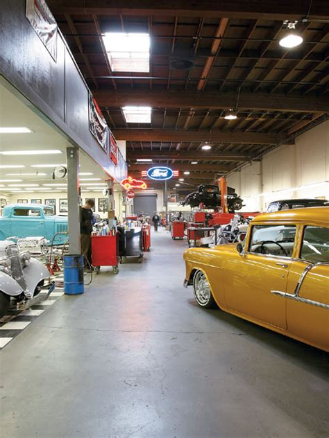 Auto Garages Near Me by Bay Area Rods Shops
