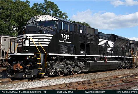 www southern norfolk southern sd80mac 7200 7228