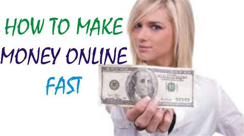 Make Money Quick Online - how to make money online fast 2016 2017 get paid 25 50 hr youtube