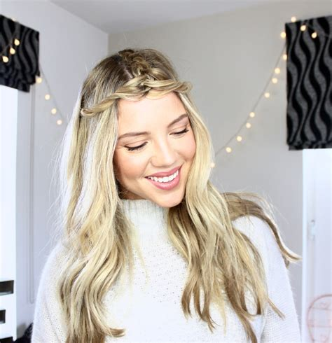 easy braided hairstyles luxy hair