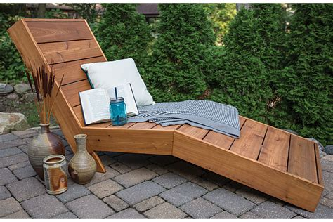 How To Build Lounge Chair by How To Build A Comfortable Chaise Lounge For Outdoor Use