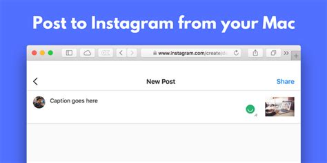 layout instagram for mac how to post photos on instagram from your mac iphone