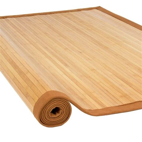 outdoor bamboo rugs bamboo area rug 5 x 8 large sized indoors outdoors mat