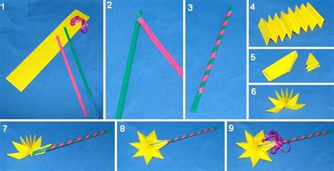 How To Make A Paper Wand - magic wand
