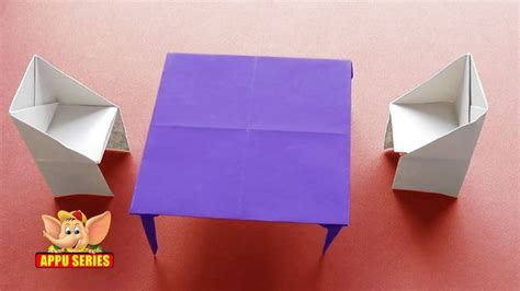 How To Make A Origami Table - 17 best images about home origami on chairs