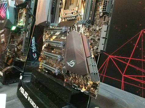 Asus Rage Vi Apex Mainboard asus x299 hedt motherboards detailed flagship rage vi
