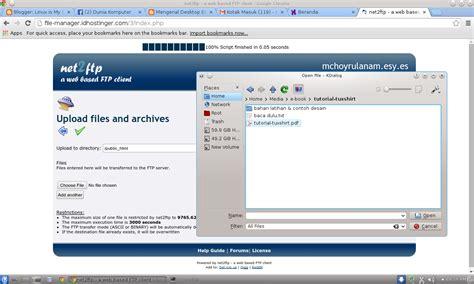 membuat web file hosting membuat server file sharing sendiri w