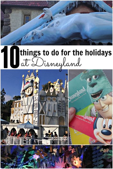 9 Cool Things To Do During The Holidays by 10 Things To Do At Disneyland During The Holidays