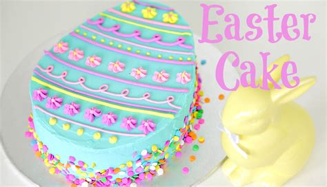 Easter Egg Decorations by Easter Egg Cake Decorating Cake Style Youtube