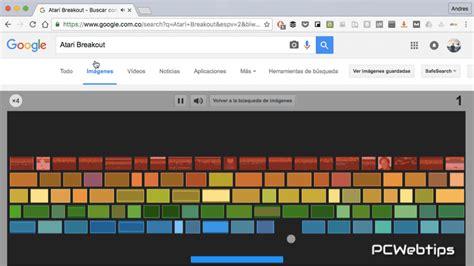 imagenes de google que se puedan jugar top 5 juegos escondido en el buscador de google pcwebtips