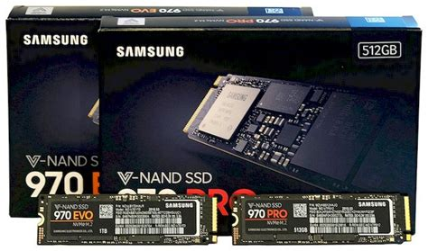 samsung 970 evo vs pro samsung ssd 970 pro and 970 evo review faster more endurance than 960 hothardware
