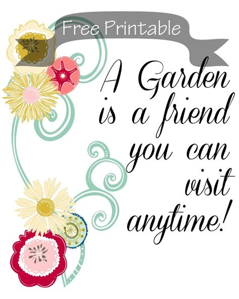 printable garden quotes 353 best garden sayings signs images on pinterest