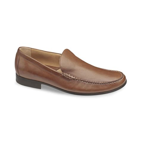 venetian loafer johnston murphy cresswell venetian loafer in brown for