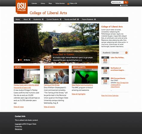 drupal theme image style drupal university relations and marketing oregon state