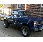 1984 Ford Ranger  Information And Photos MOMENTcar