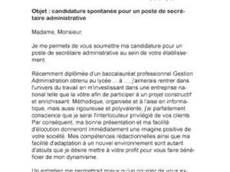 Exemple De Lettre De Motivation Pour Secrétaire Administrative Lettre De Motivation Secr 233 Taire Administrative Par Lettreutile