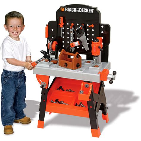 kids tool bench black and decker walmart