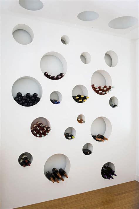 Design Na Foto | 50 portabottiglie di vino da parete per tutti i gusti