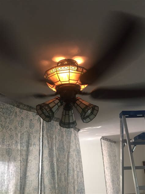 ceiling fans with upper and lower lights lighting accessing light bulbs on ceiling fan home