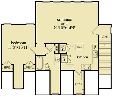 detached garage apartment floor plans 3 bay detached garage and apartment 29853rl