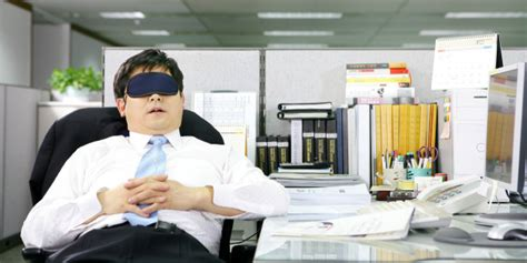 how to sleep at your desk if you the huffington post