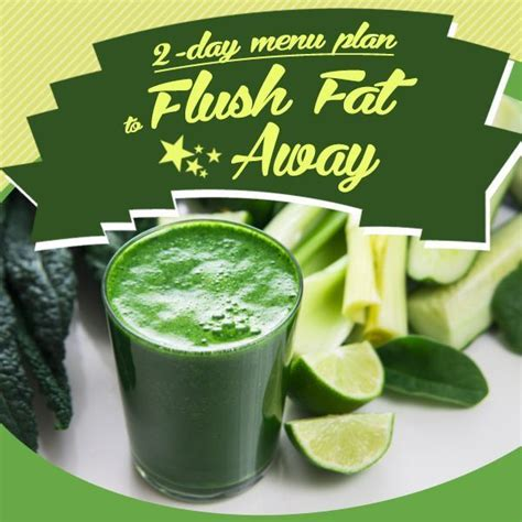 Detox Weekends Away by 2 Day Menu Plan To Flush The Away Recipe Cleanse