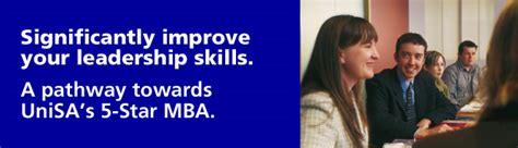 Mba Unisa Subjects by Leadership Development Business And Community