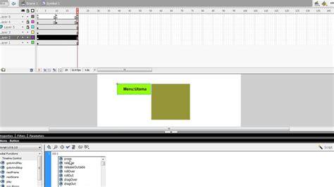 membuat menu dropdown di flash 8 membuat menu dropdown pada flash 8 youtube